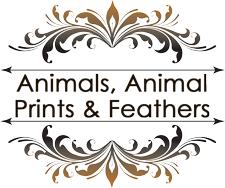 Animals, Animal Prints & Feathers