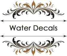 Water Decals